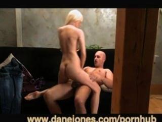 danejones sexy blonde Frau und gut ausgestattet Liebhaber