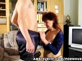 Milf Amateur Reife saugen anal Omas