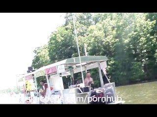 Zuhause wirklichen Leben Video von Party Bucht See der Ozarks Missouri