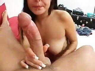 niedliche Modell in porn ausgetrickst