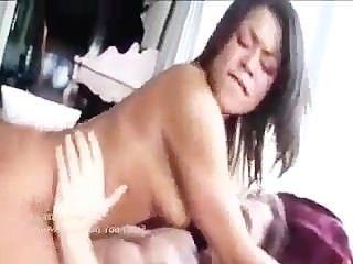 hot pink bekommt interracial Hahn