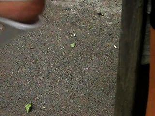 reifen Füße in High Heels