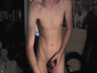 ein bisschen Spaß im Schlafzimmer - Solo-Stil - auf Webcam