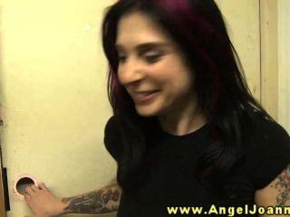 Engel joanna hat ein Verlangen nach Muschi