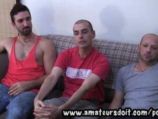 marco sam und lucas erfüllen: drei heiße Amateur Australian Männer