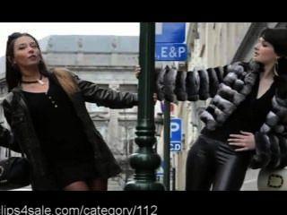 sexy Leder bei clips4sale.com