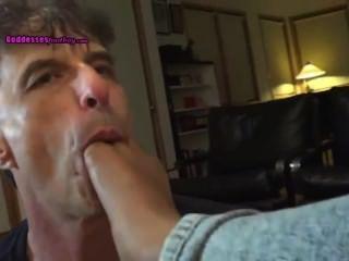 ballknebel orgasmus durch lecken