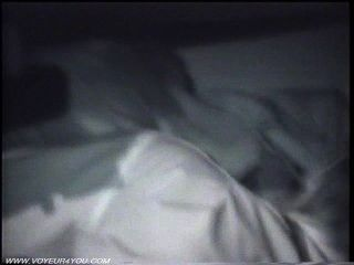 Mitternacht sexuelle Paar ficken in Auto
