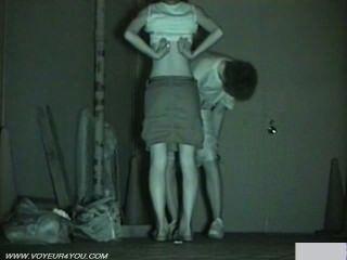 Infrarot-Kamera Voyeur Sex in der Öffentlichkeit