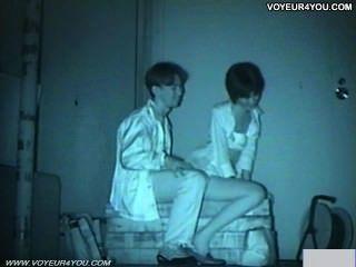 Infrarot-Kamera Voyeur Bank Park Sex