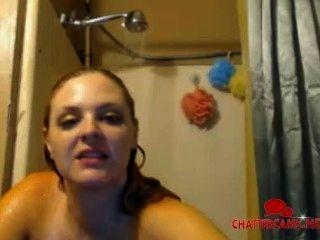 natürliche Brust leben Dusche cam