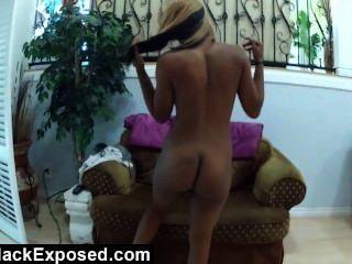 plump assed Füchsin gefangen auf Sexvideo