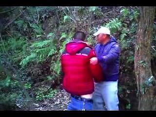[Spion video] chn reifen Bärenmann Hahn saugen