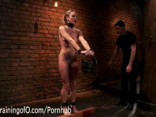 bailey blau lernt ihre erste Slave-Lektionen