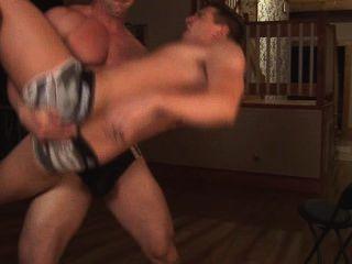 sexy Papa und sein Junge Spielzeug Webcam