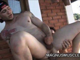 arcanjo amaro und felix stulbach - genial outdoor anal fuck Sitzung