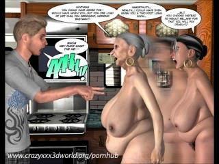 3D-Comic: die unheimliche Tal. Folge 1
