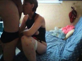 isabelle Job blasen und Sperma in den Arsch bekommen