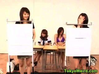 Klassenzimmer japanischen Schlampen Streifen