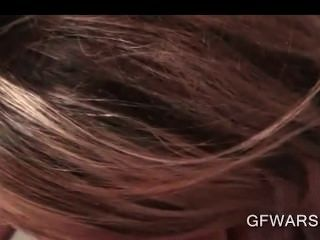 freche blonde Teen Ex-gf Möse in pov gehänselt gibt Blowjob