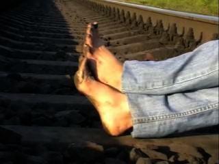 schmutzigen Füße