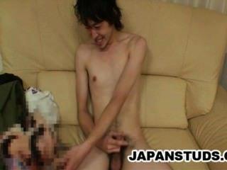 Kazushi Tazawa - dünn japan Gestüt Schwanz Wichsen