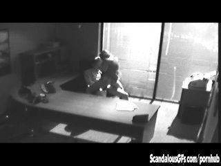 Büro Stelldichein wird auf CCTV gefangen und leckte