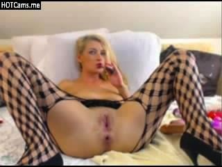 blonde Schlampe anal Ball