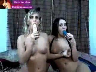 sexy Lesben heiße Live-Show