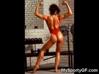 Hardbody- gfs und Nackt muskulösen Mädchen!