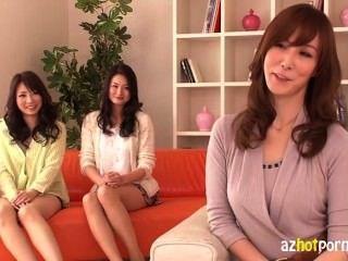 heiße japanische Damen eine Orgie mit 1