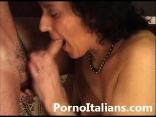 italienische reife Dame haarige Pussy sex - signora matura italiana figa pelosa