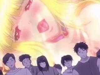 [Falara ♥ Hentai] blonde Mädchen wird in Monster gangbang verletzt