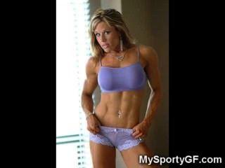 muskulösen sportlich gfs!