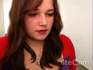18-jährige Rauchen auf Webcam