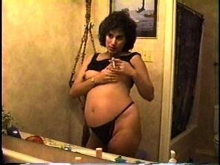 schwanger Rauchen MILF Teil 3