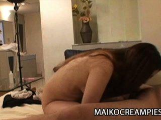 ayako sakuma: saftig japanische Frau auf ihren Mann betrügt