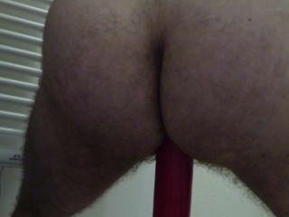 mein neues didlo ... großen roten in den Arsch