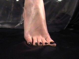 sexy Fuß necken