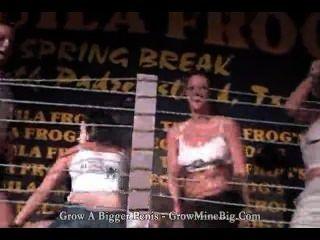Tequila Frosch s spring break nassen T-Shirt Wettbewerb