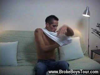 Homosexuell Film stand auf, er seine Hose aus geschoben und stand dort in