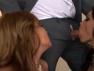 sophie & abbie, die Spaß mit ihren Männern