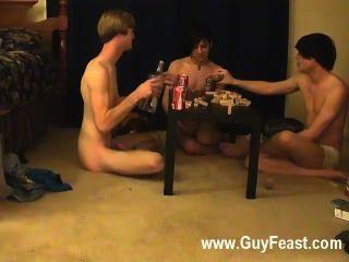 hot Homosexuell Sex Spur und William bekommen zusammen mit ihrem neuen Freund Austin