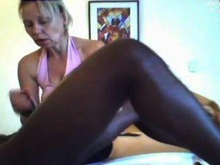Genital-Massage schwarzen Mann