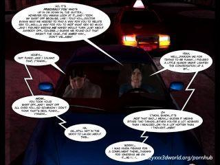 3D-Comic: böswilligen Absichten. Episode 9