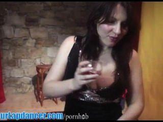 sexy Anfänger lapdances Kleid in glitzernde