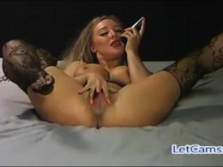heißeste blonde camgirl mastubation show on Webcam