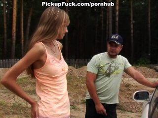Ich habe ein Pickup Mädchen für mich nackt erhalten