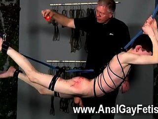Homosexuell Clip von Master sebastian kane hat die süße aaron aurora zu spielen mit