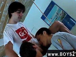 hardcore Homosexuell ist dies einige der heißesten, kinkiest 3-Wege-Youngster gonzo